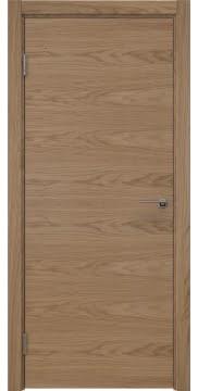 Межкомнатная дверь ZK001 (шпон дуб светлый / глухая) — 5990