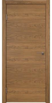 Межкомнатная дверь ZK001 (шпон дуб античный с патиной / глухая) — 5991