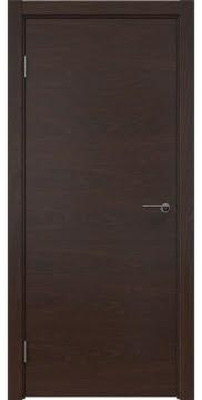 Межкомнатная дверь ZK001 (шпон дуб коньяк, глухая) — 5252