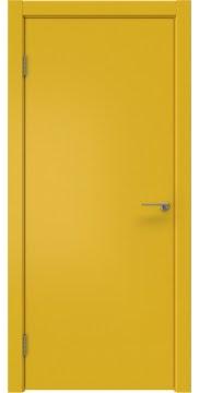 Межкомнатная дверь ZK001 (эмаль RAL 1032, глухая) — 2000
