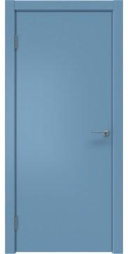 Межкомнатная дверь, ZK001 (эмаль синяя, глухая)