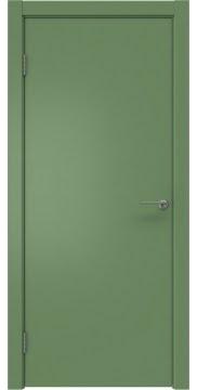 Межкомнатная дверь ZK001 (эмаль RAL 6011, глухая) — 2003