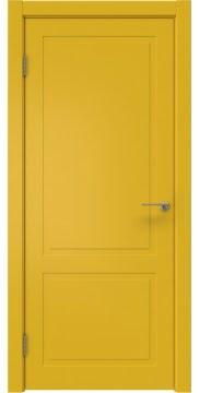 Межкомнатная дверь ZK002 (эмаль RAL 1032, глухая) — 2013