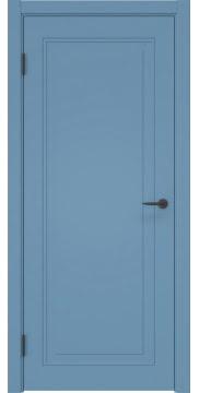 Межкомнатная дверь, ZK009 (эмаль синяя, глухая)