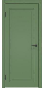 Межкомнатная дверь ZK009 (эмаль RAL 6011, глухая) — 2160