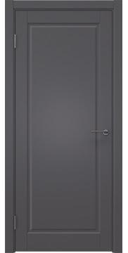Межкомнатная дверь ZK010 (эмаль графит, глухая) — 7000