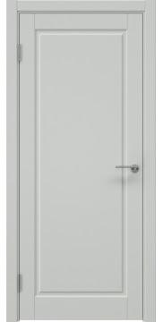 Межкомнатная дверь, ZK010 (эмаль светло-серая, глухая)