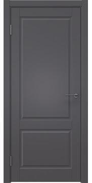 Межкомнатная дверь ZK011 (эмаль графит, глухая) — 7008