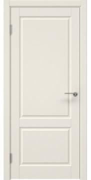 Межкомнатная дверь, ZK011 (эмаль слоновая кость, глухая)