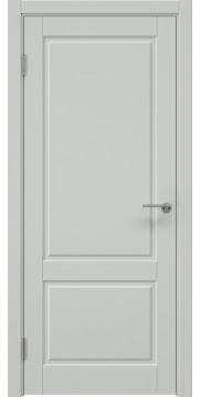 Межкомнатная дверь, ZK011 (эмаль светло-серая, глухая)
