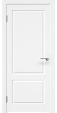 Межкомнатная дверь, ZK011 (эмаль белая, глухая)