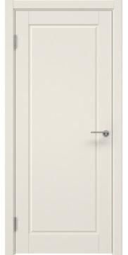 Дверь в классическом стиле, каркас из массива сосны и МДФ, ZK012 (эмаль слоновая кость, глухая)