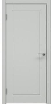 Межкомнатная дверь ZK012 (эмаль светло-серая, глухая) — 7019