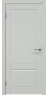Межкомнатная дверь ZK013 (эмаль светло-серая, глухая) — 7038
