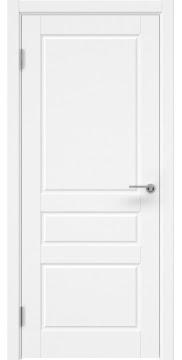 Межкомнатная дверь, ZK013 (эмаль белая, глухая)