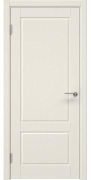 Межкомнатная дверь, ZK014 (эмаль слоновая кость, глухая)