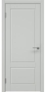 Дверь в стиле неоклассика, ZK014 (эмаль светло-серая, глухая)