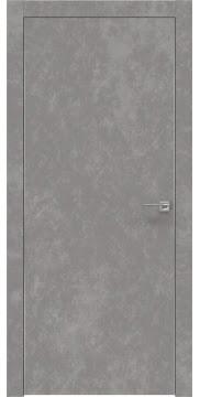 Межкомнатная дверь ZM001 (экошпон «бетон» / глухая) — 0791