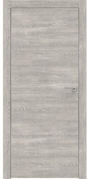Межкомнатная дверь ZM002 (экошпон «серый дуб патина» / глухая) — 0406
