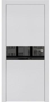 Межкомнатная дверь ZM003 (экошпон светло-серый / зеркало тонированное) — 0825