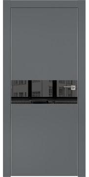 Межкомнатная дверь ZM003 (экошпон «графит» / зеркало тонированное) — 0840