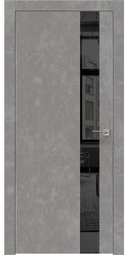 Межкомнатная дверь ZM004 (экошпон «бетон» / зеркало тонированное) — 0801