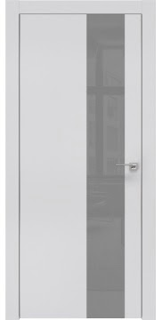 Межкомнатная дверь ZM005 (экошпон светло-серый / лакобель серый) — 0852