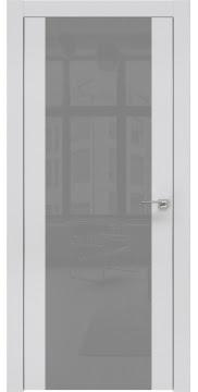 Межкомнатная дверь ZM006 (экошпон светло-серый / лакобель серый) — 0873