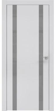 Межкомнатная дверь ZM008 (экошпон светло-серый / лакобель серый) — 0916