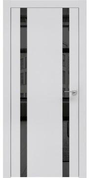 Межкомнатная дверь ZM008 (экошпон светло-серый / зеркало тонированное) — 0914