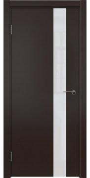 Межкомнатная дверь ZM012 (шпон венге / лакобель белый) — 5329