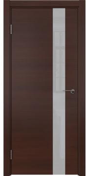Межкомнатная дверь ZM012 (шпон итальянский орех / лакобель белый) — 5801