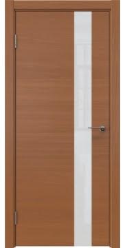 Межкомнатная дверь ZM012 (шпон анегри / лакобель белый) — 5325