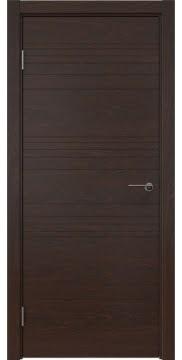 Межкомнатная дверь ZM013 (шпон дуб коньяк, глухая) — 5336