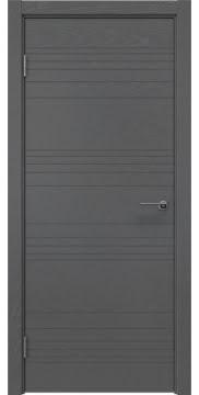 Дверь модерн ZM013 (шпон ясень серый, глухая)