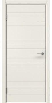 Межкомнатная дверь, ZM013 (эмаль слоновая кость, глухая)