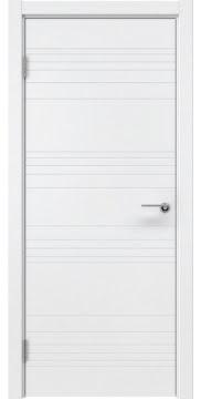 Межкомнатная дверь, ZM013 (эмаль белая, глухая)