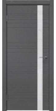 Межкомнатная дверь ZM014 (шпон ясень серый / лакобель белый) — 5357