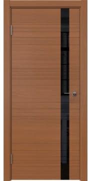 Межкомнатная дверь ZM014 (шпон анерги / лакобель черный) — 5360