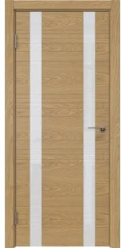 Межкомнатная дверь ZM015 (шпон дуб американский / лакобель белый) — 5365