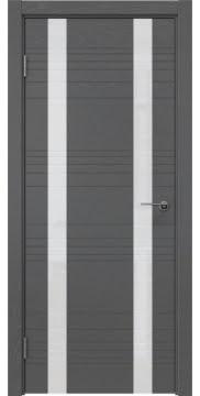 Межкомнатная дверь ZM015 (шпон ясень серый / лакобель белый) — 5377