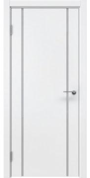 Межкомнатная дверь ZM017 (эмаль белая / триплекс белый) — 5451