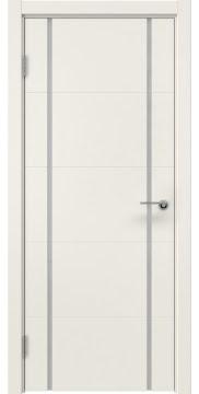 Межкомнатная дверь ZM020 (эмаль слоновая кость / триплекс белый) — 5513
