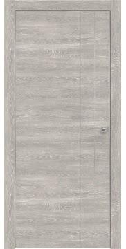 Межкомнатная дверь ZM023 (экошпон «серый дуб патина» / глухая) — 0939
