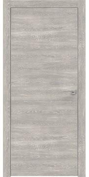 Межкомнатная дверь ZM024 (экошпон «серый дуб патина» / глухая) — 0944