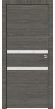 Межкомнатная дверь ZM034 (экошпон ольха, лакобель белый) — 3000