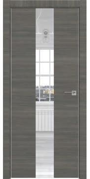 Межкомнатная дверь ZM035 (экошпон ольха, зеркало) — 3012