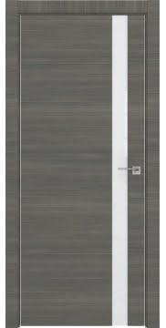 Межкомнатная дверь ZM038 (экошпон ольха, лакобель белый) — 3051