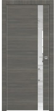 Межкомнатная дверь ZM038 (экошпон ольха, зеркало) — 3052