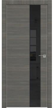 Межкомнатная дверь ZM039 (экошпон ольха, лакобель черный) — 3065